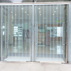 Vevor 3 X 8 Strip Curtain Door 36 X 96 Cooler Freezer 6 Usa Clear Vinyl Pvc