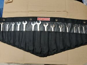 Craftsman Usa New Ratcheting Combination Wrench Set Metric Sae 14pcs Mm Inch Nos