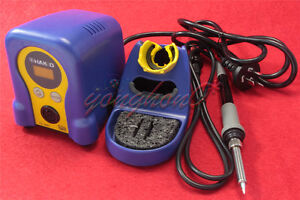 Hot Gun 70w 220v Pro Hakko Digital Soldering Station Welder Iron Repair Fx 888d