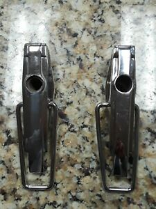 1939 Cadillac Lasalle Side Mount Spare Tire Chrome Latches 1938 1940