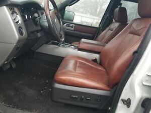 2007 08 09 Ford Expedition King Ranch Driver Left Front Seat Bucket Black Trim