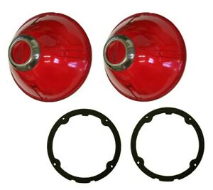 1960 Buick Invicta Lesabre Electra Tail Light Lens With Gaskets Set