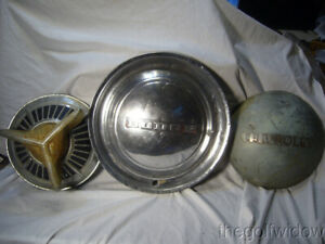 3 Vintage Hub Caps Wheel Covers Dodge Chevrolet
