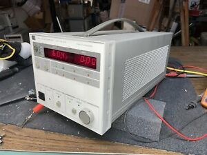 Tested 0 60v 0 10a Agilent Hp 6038a Dc Power Supply Adjustable Lab
