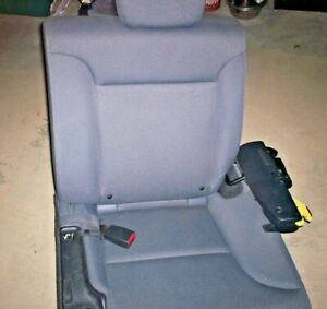 2 Honda Element Rear Bucket Back Seats Sliders Gray Water Stain Resistant
