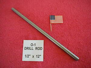 1 2 X 12 Drill Rod 0 1 Tool Steel Precision Ground 500 Machinist