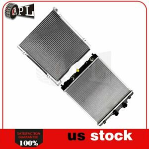 Fits 98 99 00 Honda Civic 1 6l L4 Ac Condenser And Radiator Assembly