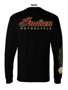1INDIAN MOTORCYCLE VINTAGE T SHIRT LONG SLEEVE $23.99