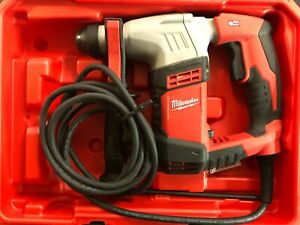 Milwaukee 5263 21 5 5 Amp Sds plus Concrete masonry Rotary Hammer Drill Kit 2