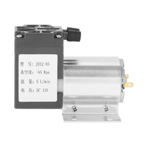 Dc 12v 5l min 120kpa Mini Vacuum Pump Negative Pressure Suction Pumping With Hol