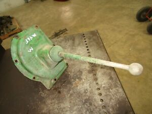 John Deere M Transmission Gear Shift Tower Assembly M46t Antique Tractor