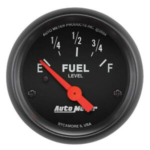 Auto Meter 2641 Z Series 2 1 16 Fuel Level Gauge