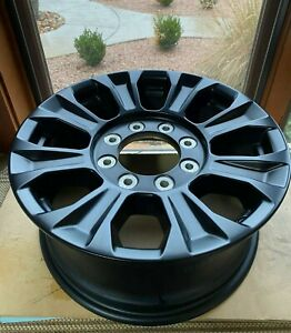 4 Ford F250 Tremor 18 Wheels Like New Condition Includes Hub Caps And Lugs