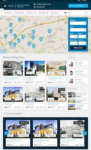 Real Estate Website Free Installation Hosting