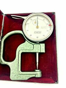 Noga Dial Thickness Gage 0 01 10 Mm