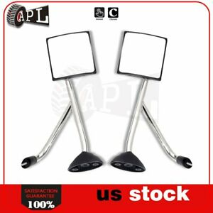 Truck Hood Mirrors For 2002 2017 International Transtar