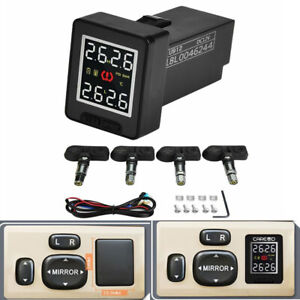 Tpms Car Tire Pressure Monitoring System 4 Internal Sensor Fit For Toyota