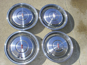 4 Vintage 16 Olds Oldsmobile Hubcaps Covers 70s 80s In Super Condition