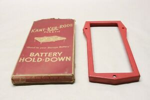 Nos 1956 Ford Fairlane Kant Ker Rode Accessory 12v Battery Hold Down Fd4