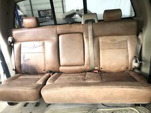 2004 2008 Ford F 150 King Ranch Rear Bench Seat Assembly Oem 04 05 06 07 08