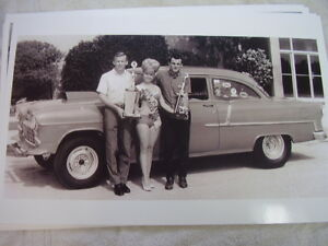 1955 Chevrolet Race Car 1965 Miss Fla Drag Races 11 X 17 Photo Picture