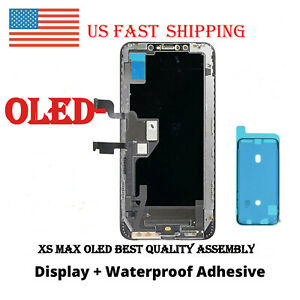 US For iPhone XS Max OLED Display Touch Screen Digitizer Replacement $65.45