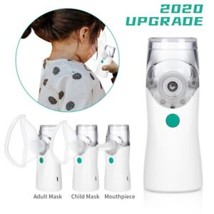 1pc Portable Handheld Ultrasonic Nebulize Inhaler Machine Respirator Kit Machine