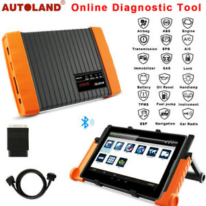 Autoland Obd2 Automotive All System Tablet Scanner Bluetooth Diagnostic Tool Us