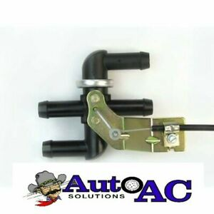 Cable Operated Heater Control Valve With Cable Control For Ford