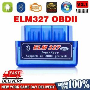 Obd2 Elm327 V2 1 Bluetooth Car Scanner Android Torque 2021 New Scan Tool