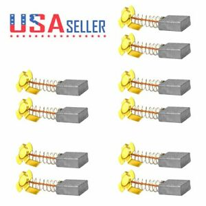 5 Pair 999034 Motor Carbon Brush For Hitachi Cut off Saw Cs 14 Psb 15 Us