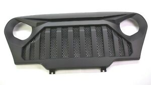 Gladiator Vader Grille Grid For 97 06 Jeep Wrangler Tj Lj Front Matte Black