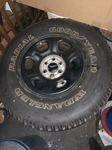 2007 Nissan Frontier Wheels And Tires
