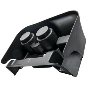 Black Console Cup Holder Attachment For Dodge Ram 1500 2500 3500 Ss281azaa