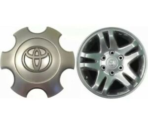 2003 07 Toyota Tundra Silver Wheel Center Hub Cover Cap Oe 42603 420nm 01