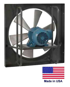 Exhaust Fan Commercial Explosion Proof 24 1 Hp 115 230v 7425 Cfm