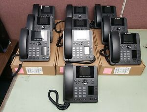 Fortinet Fortifone Fon 375 Gigabit Voip Phone With Dual Color Displays