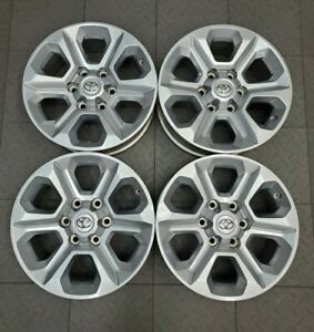 75153 Toyota 4runner Silver 17 Factory Oem Wheels Rims Set 2014 2019 4261135520