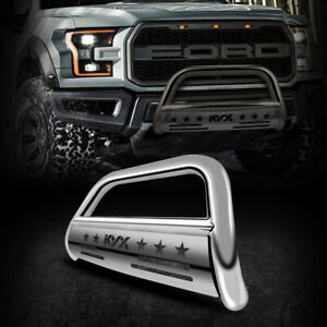 Bull Bar 3 Brush Grille Guard Front Bumper Fits 04 20 Ford F150 03 14 Lincoln