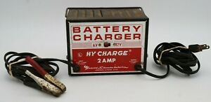 Woodward Schumacher Electric Corp Hy Charge 2 Amp Battery Charger Tested