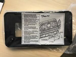 Oem Toyota Tacoma Front License Plate Bracket 2019 2021 Brand New In Package