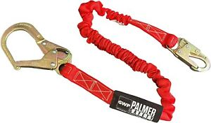 Palmer Safety Fall Protection L122233 6 Internal Shock Lanyard Double Legs