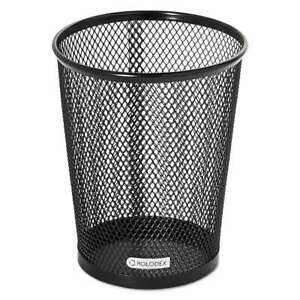 Rolodex Nestable Jumbo Wire Mesh Pencil Cup 4 3 8 Dia X 5 2 5 030402625570