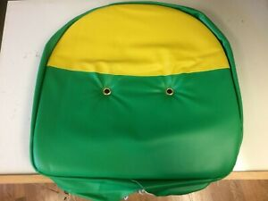 Universal Padded Pan Seat Cushion Cover John Deere A B G H 2 Cylinder Tractor