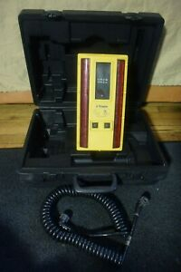Trimble Somero Laser Screed Receiver Model Lr21 With Cable