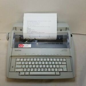 Brother Gx6750 Daisy Wheel Electronic Typewriter