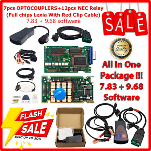 New 9 68 7 83 Version Lexia3 Pp2000 With Diagbox Full Chip For Citroen Peugeot