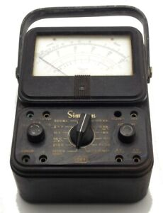 Vintage Simpson 260 Series 3 Volt ohm milliammeter Made In Usa Used