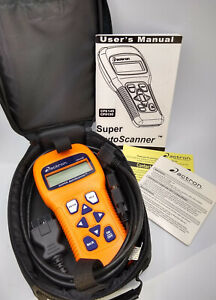 Actron Cp9145 Cr Super Autoscanner Diagnostic Tool Complete Works