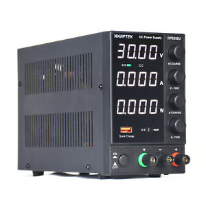 Dc Bench Power Supply Variable 0 30v 0 5a Adjustable Switching Regulated
